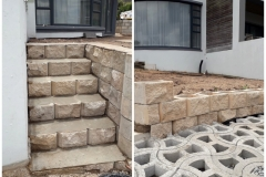Curbing Steps-Randstene Trappe
